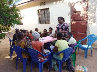 Community Work at East Africa ( Tanzania )